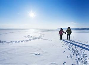俄罗斯贝加尔湖冰雪奇缘