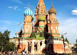 俄罗斯莫斯科圣彼得堡6晚8日深度游